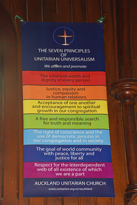 The 7 Principles of Unitarian Universalism