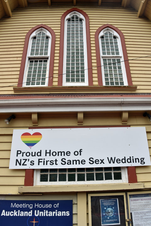 Proud Home of NZ's First Same Sex Wedding