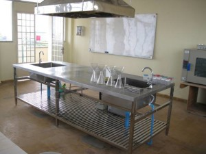 Renovated Food Technology Laboratory, Phnom Penh, Cambodia – August 2010