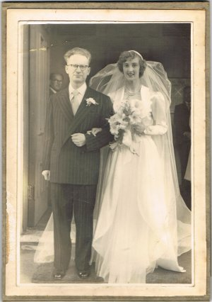 Thelma and Noel Wedding Day 8th December 1951