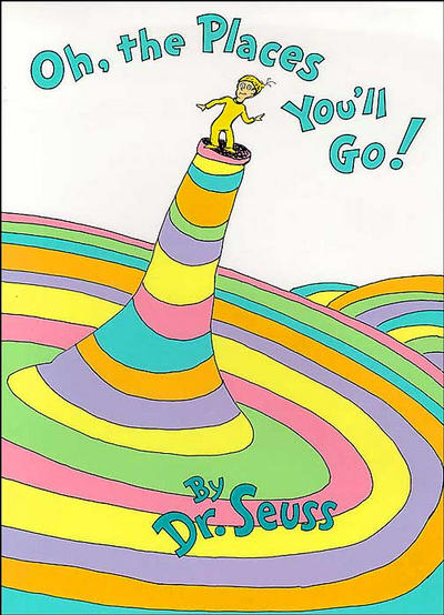 """Cover art of """"Oh, the Places You'll Go!"""" by Dr Seuss"""