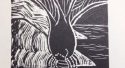 Ltd edition Nikau prints  27x35cm Foam backed prints $80. Artist: Rebecca Faull.